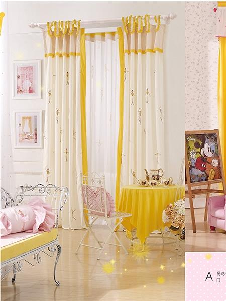 儿童房定制窗帘