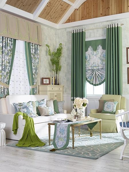 现代窗帘设计